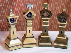 """Making The Chessmen """"King and Queen"""""""