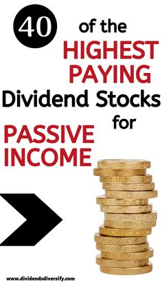 Money Discover How To Start Dividend Investing With The Highest Paying Dividend Stocks Dividend stock articles from Dividends Diversify. Stock Market Investing, Investing In Stocks, Investing Money, Real Estate Investing, Silver Investing, Drip Investing, Investment Tips, Investment Portfolio, Investment Books