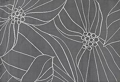 I have this pattern in my house in a couple places.  So restful.