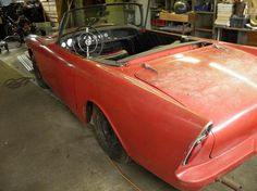 1962 SUNBEAM ALPINES - he has two of them.