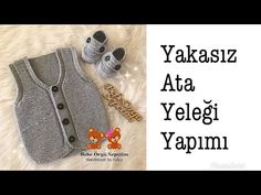Baby Vest, Knitting Videos, Baby Knitting Patterns, Baby Kids, Youtube, Baby On The Way, Knitting Patterns, Vest Coat, Tricot