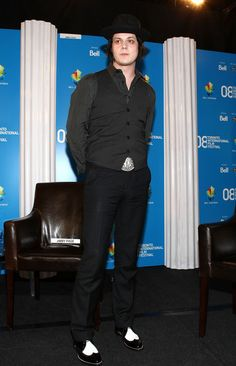 """Jack White Photos: """"It Might Get Loud"""" - Press Conference - TIFF 2008"""
