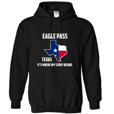 Eagle Pass Texas It's Where My Story Begins T-Shirts, Hoodies. Get It Now ==►…