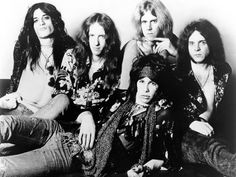 Aerosmith - my favorite band during my high school years.  Train kept a runnin' was one of the first songs I learned on guitar.