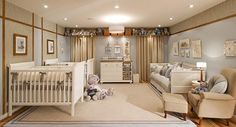 100 traditional nursery design for baby Twin Baby Rooms, Baby Bedroom, Baby Room Decor, Baby Room Design, Nursery Design, Triplets Nursery, Luxury Nursery, Home, Baby Boys