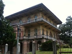 Luling Mansion, Faubourg St. John, New Orleans, LA