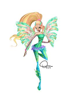 Winx Club Fan Art - Daphne Couture by DuKirito!
