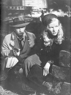 the-asphalt-jungle: monamour1854:  This Gun for Hire--Alan Ladd, Veronica Lake