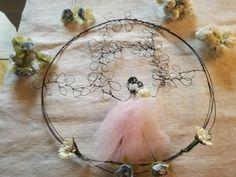 Fiocco nascita bimba creato da sissygiov su Instagram. In vendita in Atelierdelrecupero Etsy shop on line