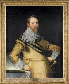 Gustav II Adolf of Sweden Reign: October 1611 – November 1632 Gustav II Adolf, also known as Gustavus Adolphus, was the King of Sweden for 21 years. During his reign, Sweden became a major North European power. Queen Christina Of Sweden, Kingdom Of Sweden, Thirty Years' War, Swedish Royalty, Old Portraits, History Class, Art History, European History, Historical Clothing
