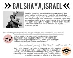 Student Competitions - Student Competitions Winner Portrait: Gal Shaya