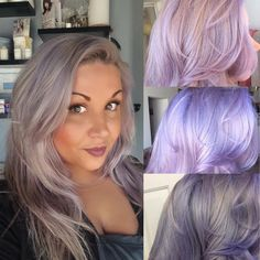 COLOR. Manic Panic Blue Steel w/ a lil Manic Panic Ultra Lavendar. Changes colors in different light. #manicpanic #bluesteel #ultraviolet