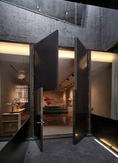 Artchitect David Adjaye doors.