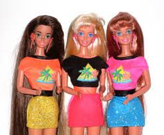 barbie 90s. When their hair actually felt real