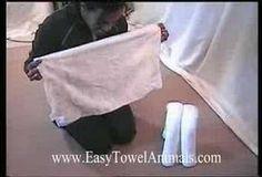 Cruise Towel Animal - Towel Origami - Towel Folding Video - YouTube