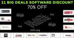 http://ctrlf.org/software-promo-black-friday-cyber-monday/ Black Friday and Cyber ​​Monday is the most appropriate moment to shop. Most merchants provide massive discounts at those times. In fact, there are some that give special discounts up to 70%.