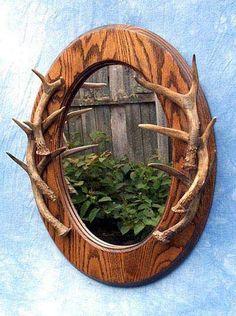 Deer Antlers Mirror
