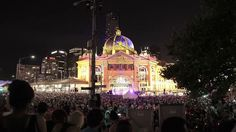 White Night Melbourne - watch as Melbourne is transformed into an all-night wonderland for everyone to explore. From dusk til dawn, over 80 free events celebrated music, food, film, art and light.