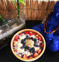 Buddha Approves the Acai Game  ... #ChefdeTyrone #AcaiBowlGameisStrong #DomesticSkills #Organic #Raw #Vegan #NonGMO #AthleteFuel @sambazon