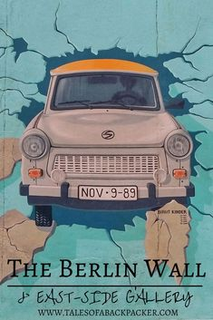 The Berlin Wall is one of the most striking remnants of Berlin's past, as the Wall crossed the whole of the city, and can still be seen in several areas of Berlin today.  Here is how to visit some sections of the Berlin Wall, to learn about the past, and investigate how Germans are looking to the future. #Berlin #Germany #Europe #BerlinWall #Streetart #Graffiti #travel
