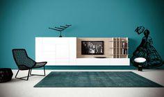 Novamobili | G127, Wall Panel, Tempo Giorno, Design Made in Italy