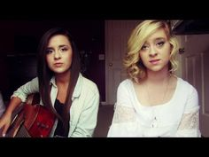 """Megan and Liz: """"Wanted"""" (Hunter Hayes cover)"""