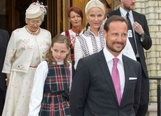 Crown Princess Mette-Marit, Crown Prince Haakon and Princess Astrid,