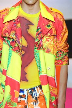 patternprints journal: PRINTS AND PATTERNS FROM MILAN CATWALKS MENSWEAR S/S 2014 /   Versace