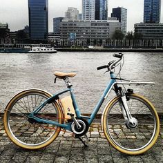 elektrische hippe fiets