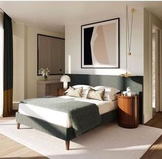 30 Minimalist Bedroom Decor Ideas that are Not Too much but Just Enough - Hike n. 30 Minimalist Bedroom Decor Ideas that are Not Too much but Just Enough - Hike n Dip Serene Bedroom, Modern Bedroom, Master Bedroom, Master Suite, Gray Bedroom, Master Master, Bedroom Classic, Bedroom Bed, Danish Bedroom