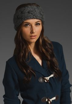 Knitted headband Grammie