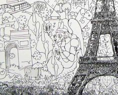 What a story: a Japanese artist, Keita Sagaki, inspired by mandalas draws super detailed doodles. Inspired by Hieronymus Bosch and Katsushika Hokusai (just to name a few), Keita developed his personal style of cartoonish doodles as a young child. His pen and ink illustrations follow a simple concept: 'Whole and Part'. The idea is that [...]