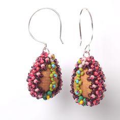 Drop shaped earrings www.claudia-pollack.de