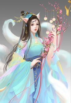 Best romance stories to free read on Fantasy Art Women, Beautiful Fantasy Art, Beautiful Drawings, Fantasy Girl, Beautiful Goddess, Anime Angel Girl, Anime Art Girl, 3d Girl, Anime Princess