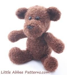 Little Abbee: Teddy Bear and Sweater FREE Pattern
