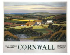 Cornwall Landscape and Cottage