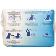 Advance Dog Training Pads With Turbo Dry Technology 30/Pkg, Multicolor