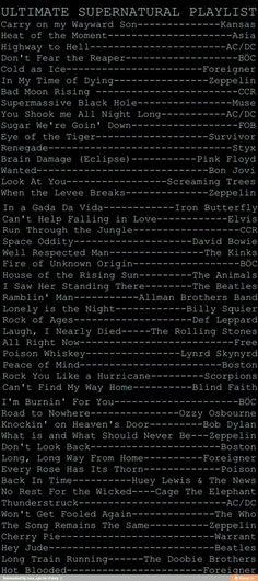Supernatural Fandom, Supernatural Playlist, Supernatural Tattoo, Supernatural Quotes, Destiel, Superwholock, Fangirl, Behind Blue Eyes, Sam Dean