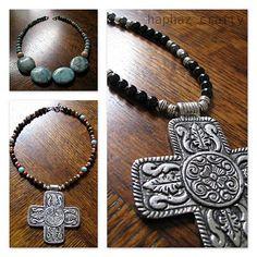 cross necklace and bracelet :)