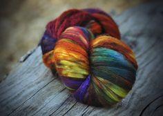 BEAUTIFUL colorway - millefiori by allspunup  (photo by hellskitsch)