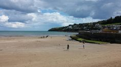 Ardmore Beach in Ardmore, Co Waterford