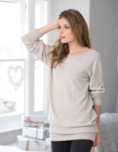Supersoft Slouch Jumper, from Celtic & Co