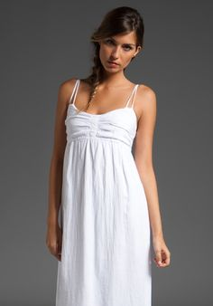 Simple wedding dress for if I got married on the beach