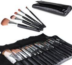 Bundle Monster 15pc Studio Pro Makeup Make Up Cosmetic Brush Set Kit w/ Black Faux Crocodile Case - For Eye Shadow  Blush ...: http://www.amazon.com/Bundle-Monster-Studio-Cosmetic-Crocodile/dp/B005F11WP6/?tag=repined-20