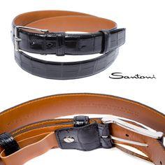 #Новая_коллекция ремней из крокодила #santoni. Ждем Вас в #Аргесто ! #belts #leather #amazing #cute #man #fashion #swag #luxury #brand #boutique #beautiful #ремень #крокодил #сантони #argesto