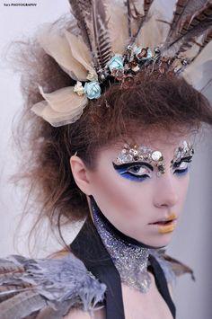 This look created by Melissa Clark. Makeup Artist Portfolio, Melissa Clark, Stylists, Creative Photography, Nikon, Earrings, Hair, Studio, Jewelry