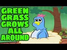 Green Grass Grows All Around - Sing Along Sequencing Song with Lyrics : The Learning Station Blog