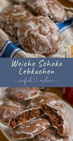 The best soft gingerbread - beware of addiction! Are these gingerbread good! They succeed in no time at all, are super tasty and keep well packaged for at least 2 weeks. Pastry Recipes, Baking Recipes, Cookie Recipes, Dessert Recipes, Christmas Desserts, Christmas Baking, Fall Recipes, Sweet Recipes, German Baking