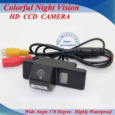 จัดส่งฟรีที่CCDรถยนต์กล้องมองหลังสำหรับNissan Qashqai X-Trail GenissเบิกD Ualisซันนี่2011 Jukeรถที่จอดรถกล้อง