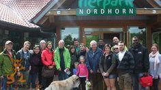 Auf dem Weg zu einem internationalen Tierpflegertreffen, machten einige Zootierpfleger Zwischenstation in Nordhorn und tauschten sich über Methoden und Erfahrungen aus.